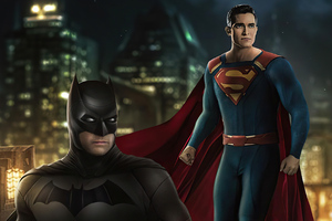 Batman And Superman 4k 2020