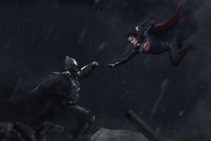 Batman And Superman Fight