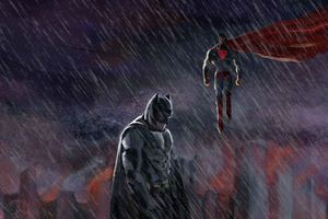Batman And Superman Wallpaper