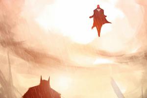 Batman And Supermanart Wallpaper