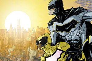 Batman And The Signal 4k