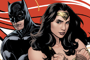 Batman And Wonder Woman Artwork