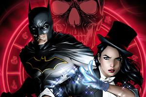 Batman And Zatanna 4k Wallpaper
