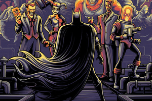 Batman Animated Series Wallpaper