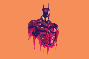 Batman Arkham Knight 4k Minimalism Wallpaper