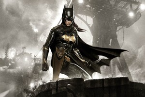 Batman Arkham Knight Batgirl Wallpaper