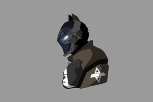Batman Arkham Knight Minimalism
