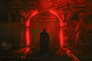 Batman Arkham Knight Mystery Door Wallpaper