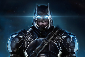 Batman Armoured Art Wallpaper