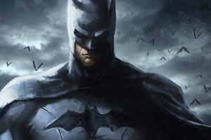 Batman Art 4k