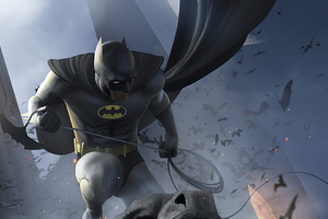 Batman Artnew Wallpaper
