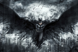 Batman Artwork Knight 4k