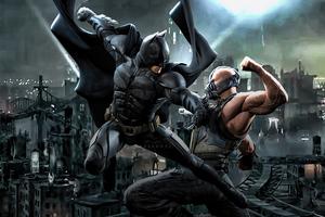 Batman Bane 4k