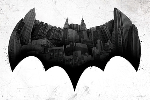 Batman Bat Logo 4k Wallpaper