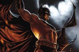 Batman Bat Signal Comic Wallpaper