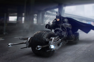 Batman Batbike