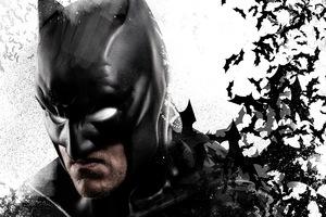 Batman Bats 4k