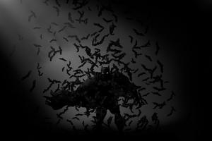 Batman Bats Art 4k