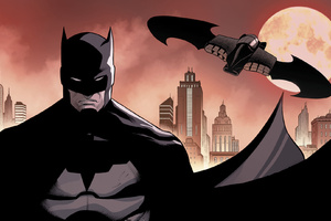Batman Batwing DC Comics Art