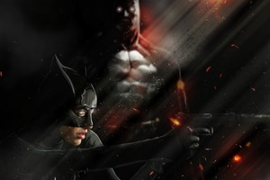 Batman Batwoman Art Wallpaper