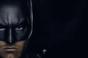 Batman Ben Affleck Art