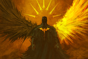 Batman Between Light And Darkness
