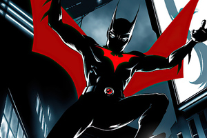Batman Beyond 2020 Art New