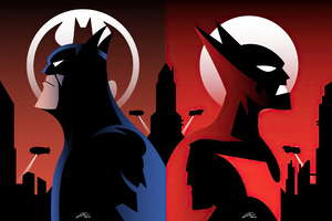 Batman Beyond 2020 Artwork 4k Wallpaper