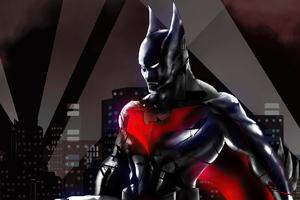 Batman Beyond 2020 New 4k Art