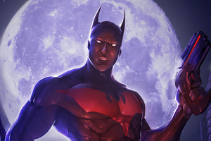 Batman Beyond 4k Artworks Wallpaper