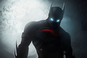 Batman Beyond Art 4k