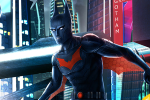 Batman Beyond Artwork 4k 2020