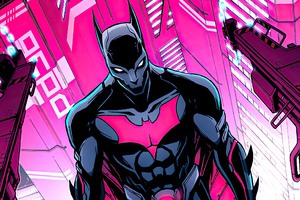 Batman Beyond Cyber City Wallpaper