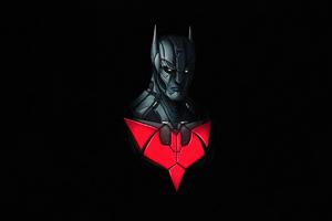 Batman Beyond Dark Minimal 4k Wallpaper