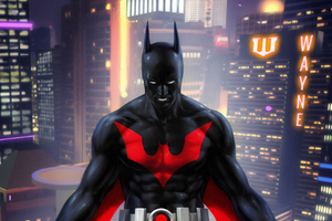Batman Beyond Digital Art Wallpaper