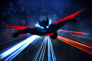 Batman Beyond HD Art