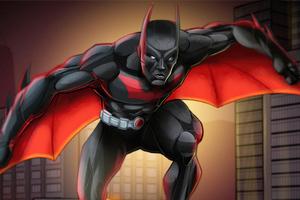 Batman Beyond In City 5k