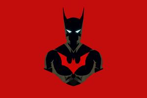 Batman Beyond Minimalism 4k