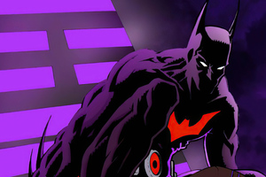 Batman Beyond Neon Night 4k Wallpaper
