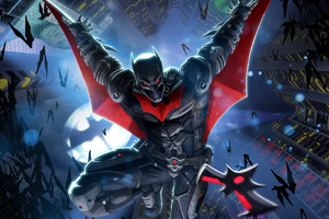 Batman Beyond New Artwork Wallpaper