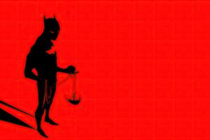 Batman Beyond Red 4k