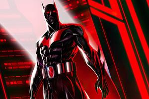 Batman Beyond Red World 4k