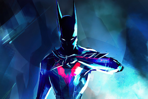 Batman Beyond Sketch Artwork 4k Wallpaper