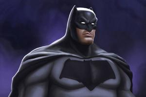 Batman Big Art Wallpaper