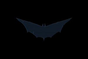Batman Blue Logo 8k Wallpaper