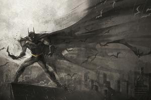 Batman Cape Art New