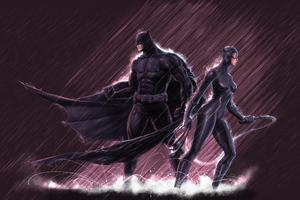 Batman Catwoman 4k