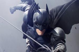 Batman Christian Bale Art