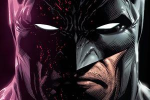 Batman Closeup Mask