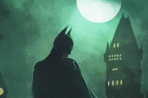 Batman Comic Artworks
